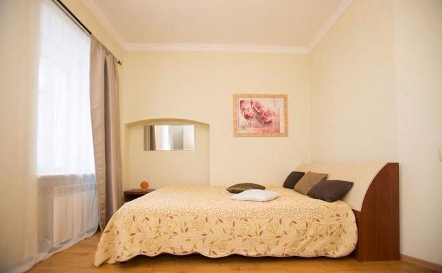 2-комнатная квартира посуточно в ЖК Айгерим на Аль-Фараби Розыбакиева
