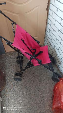 Детская коляска прогулочная лёгкая каляска трость летняя коляска