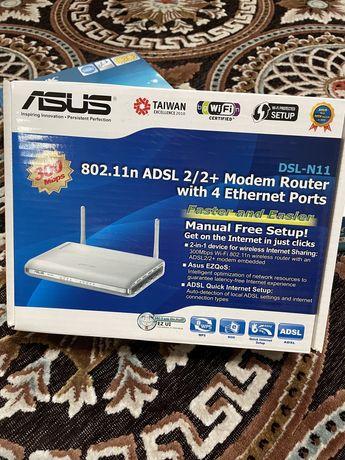 Wi-fi роутер Asus. Модем