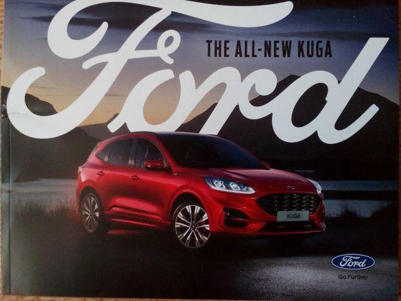 Предлагам брошура книга каталог списание за чисто новия Ford Kuga 2020