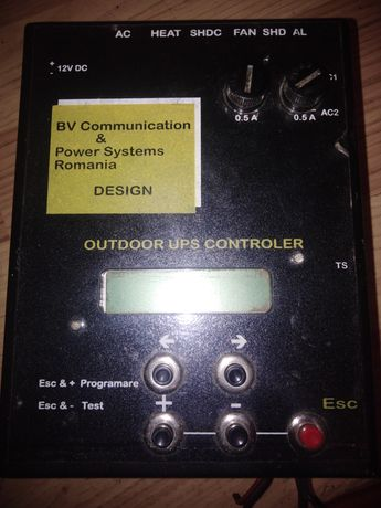 Outdoor ups controler