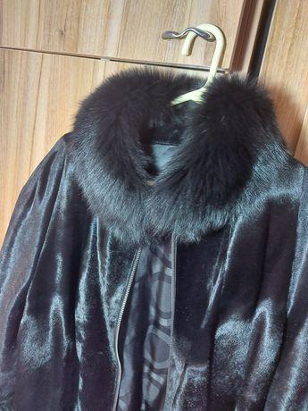 Дамско палто лисица и косъм от пони