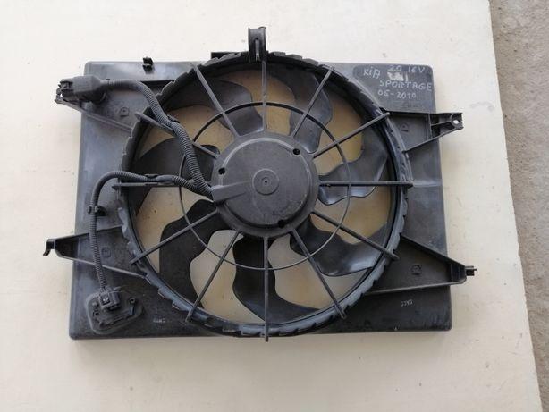 Ventilator radiator Kia Sportage 4WD, 2.0; 16V