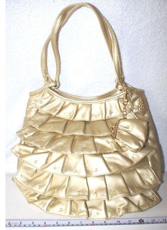 jennifer lopez- златна чанта 30 лв