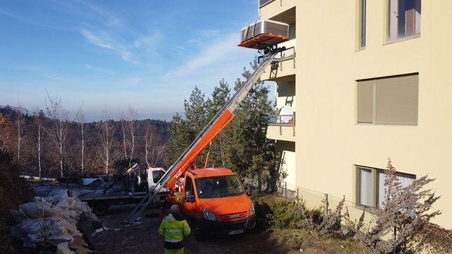 lift exterior,  mobila , mutari, relocari , lift girafa