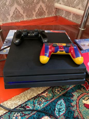 PS 4 Pro 1 TB пластешын 4 про 1 ТБ