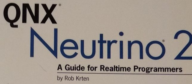 Getting Started with QNX Neutrino 2 A Guide for Realtime Programmers