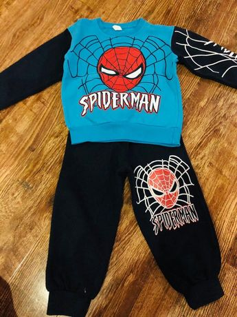 Trening spiderman nou 2 ani