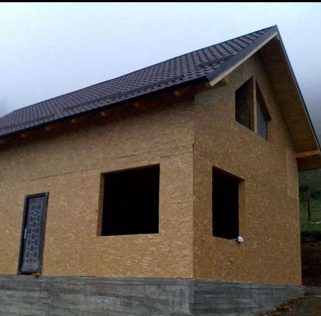 De vânzare case din OSB placată cu polistiren