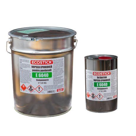 Vopsea Epoxidica ECOSTICK™ bicomponenta 17.5KG / Epoxi pardoseli