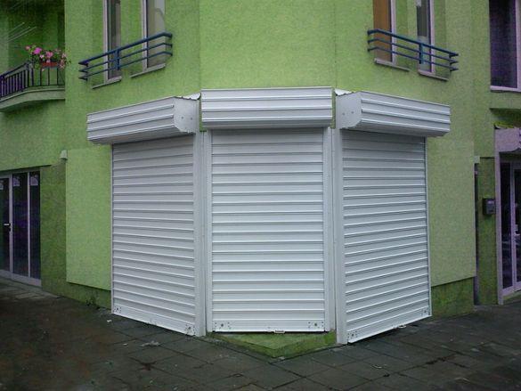 Охранителни ролетки, гаражни врати