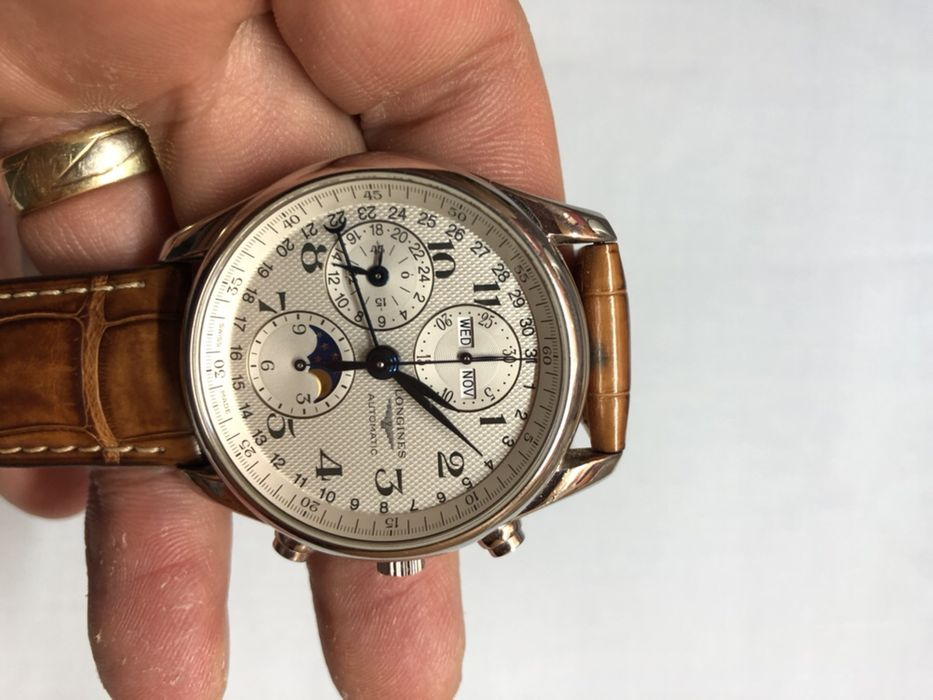 Longiness Master Collection Moonphase