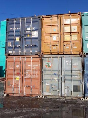 РАСПРОДАЖА 20 фут.контейнеров в г.АЛМАТЫ. В ОТЛИЧНОМ Состояний.