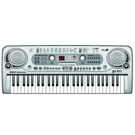 Orga electronica cu 54 clape MQ, microfon si USB/MP3