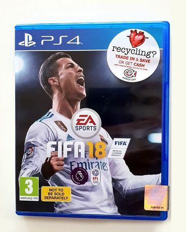 FIFA 18 PS4 play station