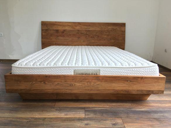 """Дизайнерска спалня от масив """"Albero Unico """"."""