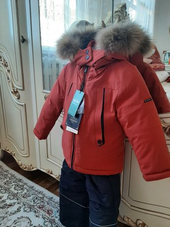 Зимний детский курточка и комбинезон