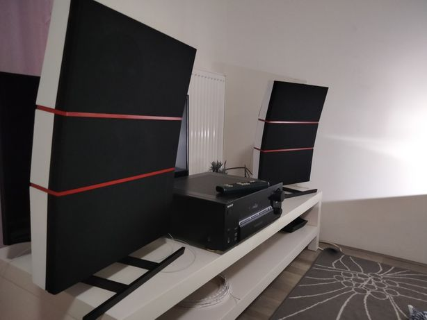 Sony STR-DB780 cu boxe Bang and Olufsen Red Line 45.2