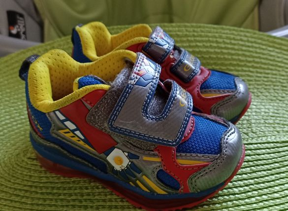 Бебешки светещи маратонки Геокс/Geox