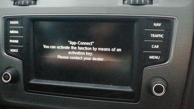 Card Android Auto Carplay App connect MIB2 VW Audi Skoda Seat harti