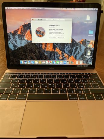 MacBook 12, Rose Gold 1,2Hz, 512 gb