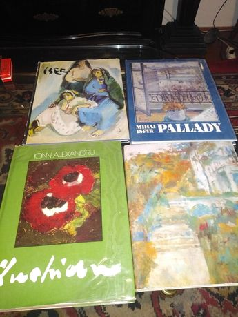Albume cu pictori romani