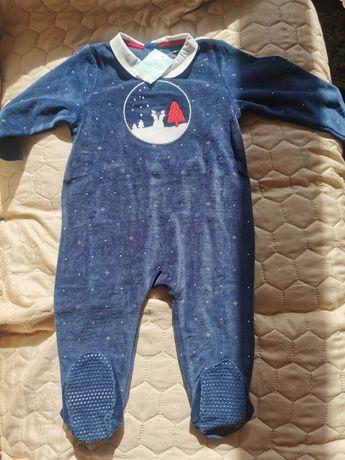 Пижама за бебе момиче
