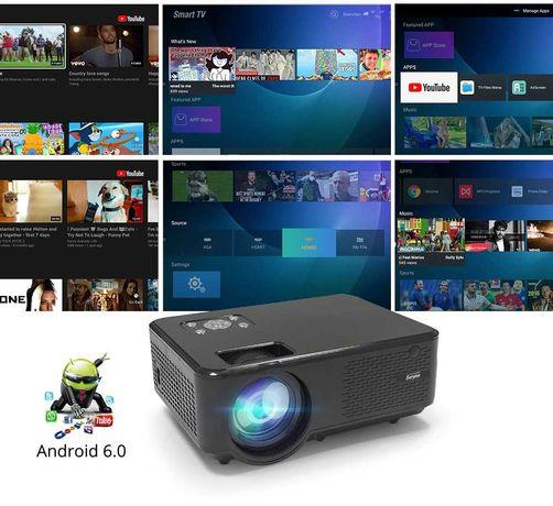 Новые проектор M8w с интернетом, рассрочка каспи, кредит