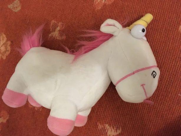 Agnes' Fluffy Unicorn Despicable Me Original