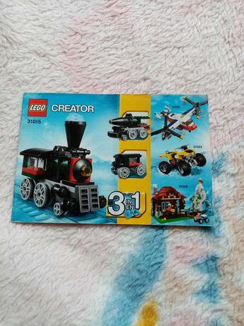 """Set lego Cretor 3in1 """"Expresul de smarald"""""""