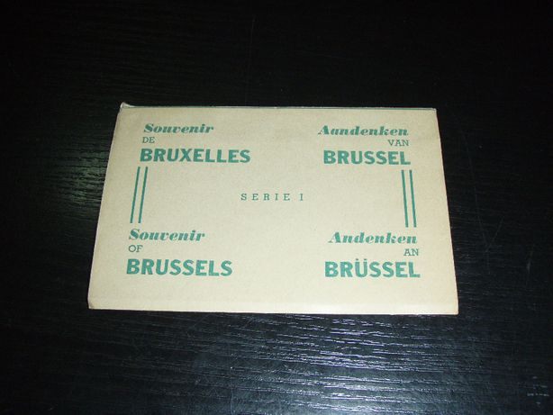 Set 10 carti postale necirculate Bruxelles - Belgia (set 1)