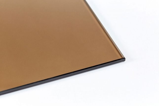 Стекло М1 4мм листовое золотисто-бронзовое
