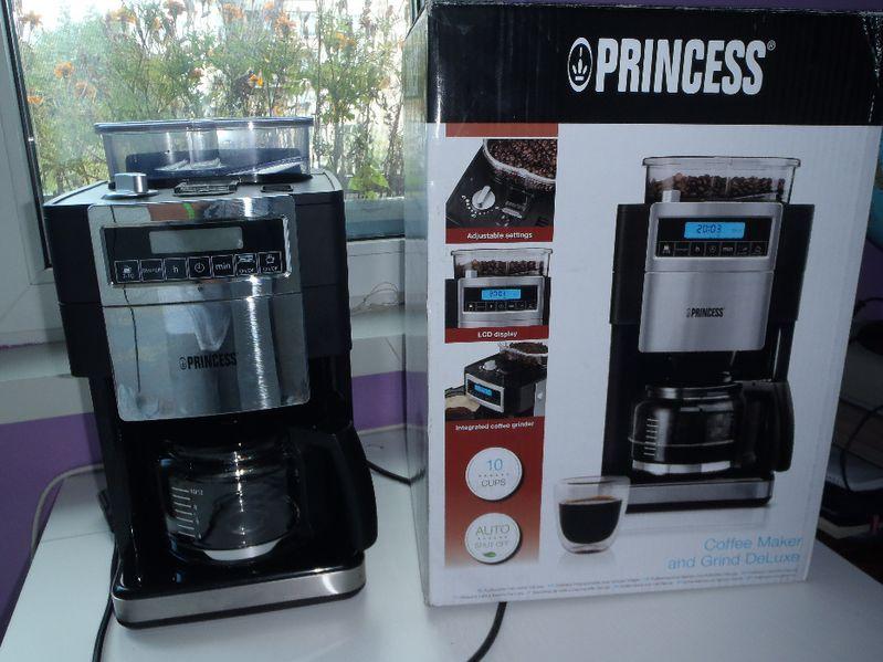 Кафемашина за шварц кафе Princess DeLuxe / кафемашина Princess гр. София - image 1