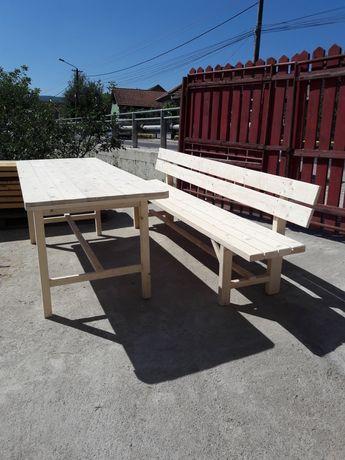 Masa si banci pentru terasa