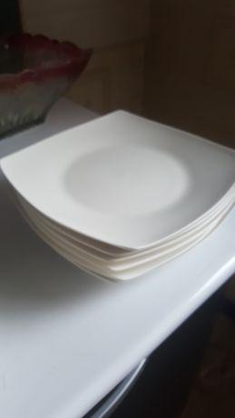 Тарелки белые 6 штук