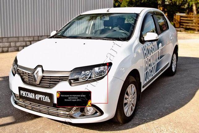 Запчасти (реснички) Renault Logan SANDERO 2014-