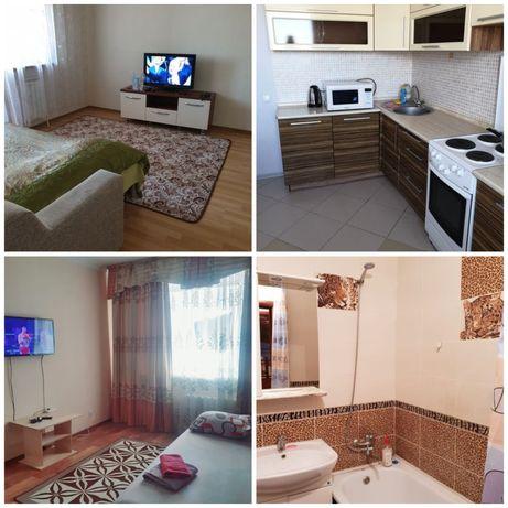 Квартира посуточно почасово проспект женис жк Махабат