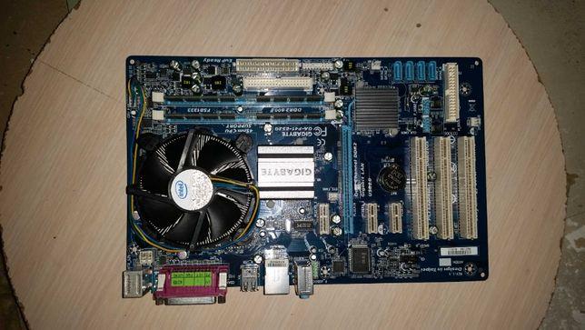 placa de baza Gigabite GA P41 ES3G rev 1.1 cu procesor