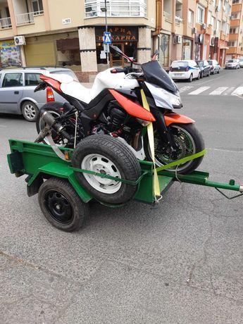 Наем Ремарке за мотори Транспорт