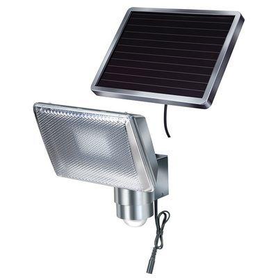 Прожектор LED със сензор соларен 4 W,Hugo Brennenstuhl SOL 80!