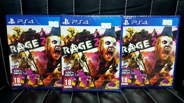 Чисто нова запечатана игра RAGE 2 за PS4