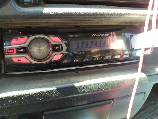 Авто магнитофон оригинал Pioneer