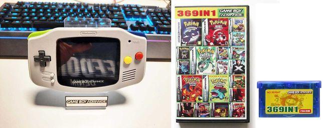 Consola Nintendo Gameboy Advan.Game Boy, IPS V2+369 jocuri (tr. 5 lei)