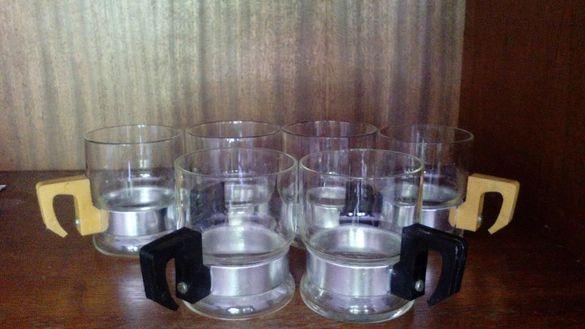 Комплект 6бр стъклени чаши