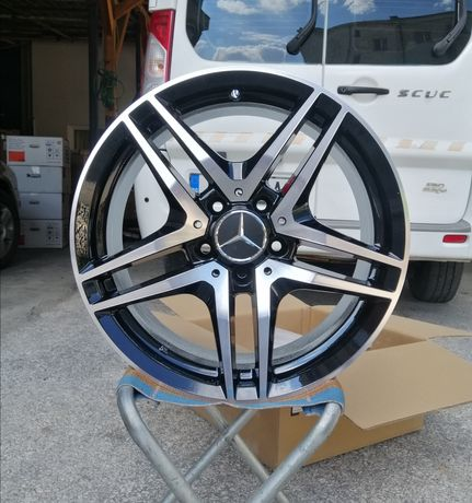 "Джанти за Мерцедес Mercedes 19 ""цола 5х112 чисто нови C, E, S class.."