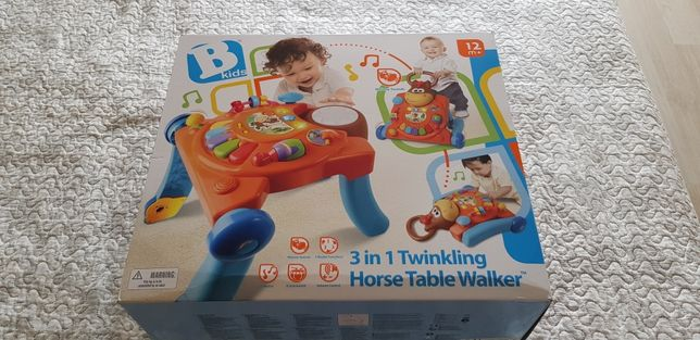 Jucarie bebelusi B-kids, antemergator si masa de activitati