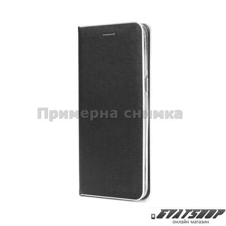Калъф Luna Book Silver за Huawei P40 Lite E,черен