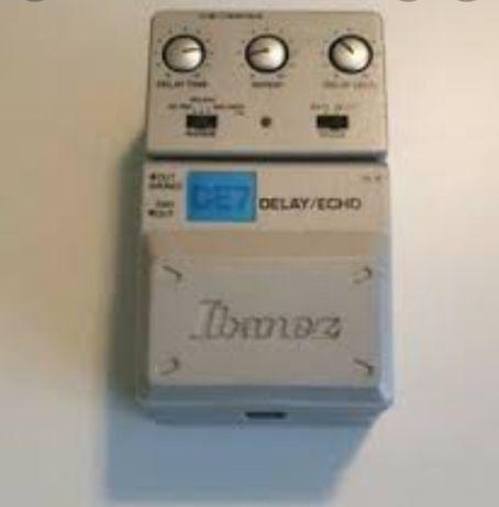 pedala efect chitara Ibanez DE7 delay / echo