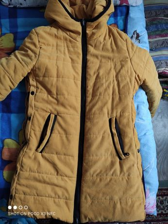 Куртка парка тряпочная