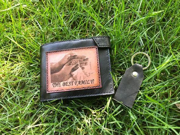 portofel personalizat din piele pentru barbati